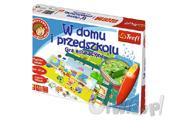 Gra edukacyjna dla dzieci mały odkrywca
