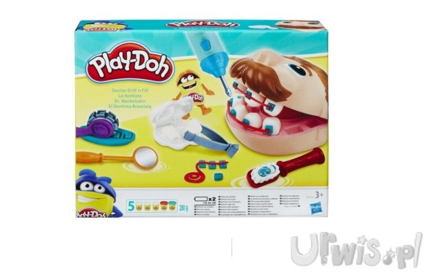 PlayDoh Dentysta Zabawka Kreatywna