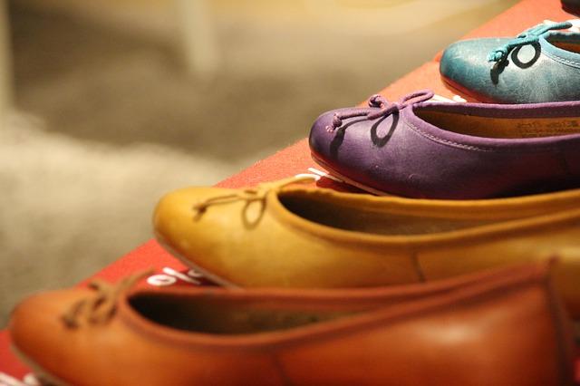 Kolorowe baleriny