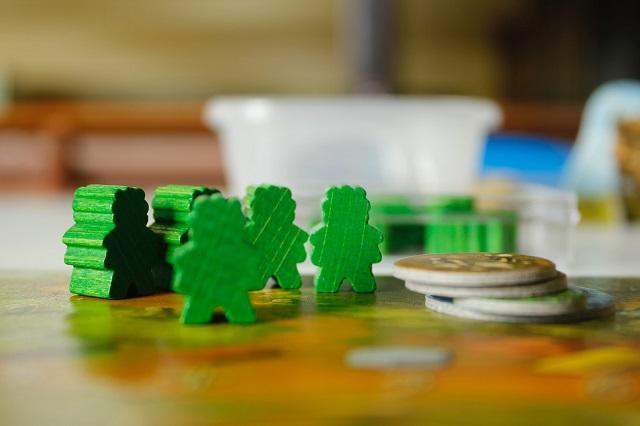 Pionki z gry planszowej